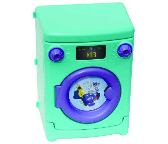 Совтехстром Игрушка Стиральная машинаИгрушка Стиральная машинаСовтехстром Игрушка Стиральная машина не оставит ребенка равнодушным.  Особенности: Дверца печки открывается, поэтому туда можно положить игрушечную еду.  В духовке есть две полочки.  Верхняя часть Электроплиты оформлена под настоящие электроконфорки.  На панели имеется два стилизованных регулятора нагрева.   Размер игрушки: 29 х 22 х 16 см<br>