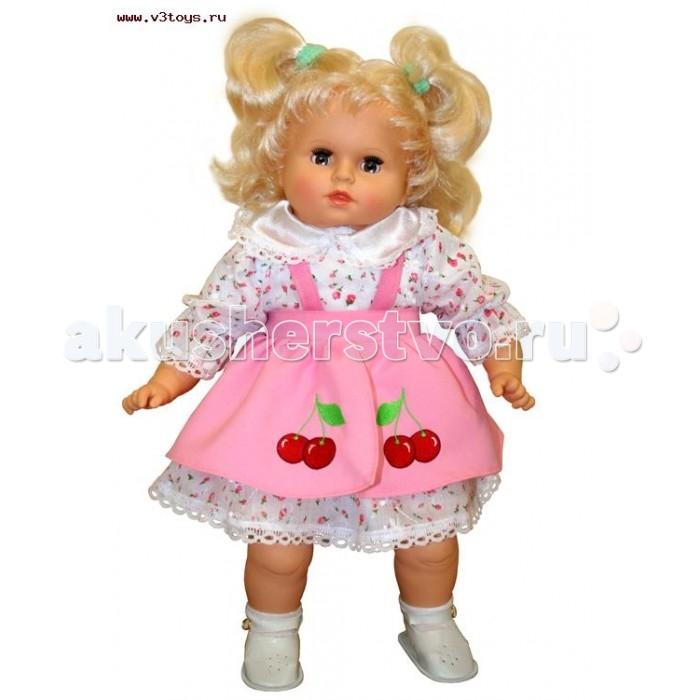 Весна Кукла Дашенька 6 звук озвученная 53 смКукла Дашенька 6 звук озвученная 53 смКукла Дашенька 5 – мягконабивная кукла со звуковым устройством, благодаря которому она может беседовать со своей хозяйкой. У куклы густо прошитые длинные волосы, которые можно расчесывать, заплетать в косички и укладывать в различные прически.  Тело куклы мягконабивное, а руки и ноги изготовлены из пластмассы. Дашенька 5 одета в блузочку и юбку на липучке. У нее вставные глаза, которые закрываются стоит только положить ее на спину, обрамленные густыми и длинными ресницами.<br>