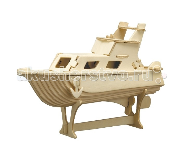 Конструктор МДИ ЯхтаЯхтаМДИ Яхта П041                       Эта модель - настоящая находка для юных моряков или будущих яхтсменов. Собирать такие модели очень просто и интересно, а также это занятие развивает в ребенке массу полезных навыков, а в результате получается замечательная вещь, которая с одинаковым успехом может служить как простым украшением (и поводом для гордости), так и полноправным участником большого игрового процесса.<br>