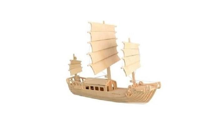 Конструктор МДИ ДжонкаДжонкаМДИ Джонка П045                       Джонка - судно, традиционно используемое китайцами и японцами, которое по сей день можно встретить в реках и около морского побережья.Они функционируют в водах Юго-Восточной Азии по сей день.  Собрать свою уменьшенную версию Джонки можно с помощью набора для деревянной модели Джонка от компании Мир Деревянных Игрушек. Детали для сборки нужно выдавить из фанерного листа и скрепить между собой по инструкции. Такая модель может послужить как отличное украшение интерьера.<br>