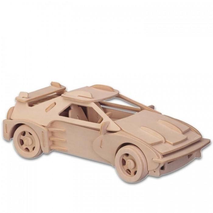 Конструктор МДИ ФеррариФеррариМДИ Феррари П065                       Из деталей сборной деревянной модели Феррари мальчик сможет собрать копию настоящего спорткара. Модель очень хорошо детализирована. Детали следует собирать строго по порядку, используя подробную инструкцию. На каждой детали ребенок найдет насколько цифр, которые служат подсказками в сборке конструкции. Собранную модель можно покрыть лаком или раскрасить красками (не входят в комплект).<br>