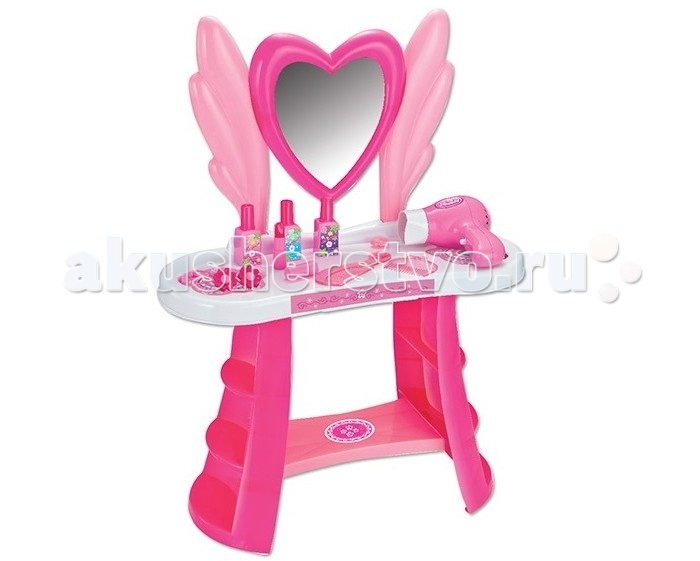 1 Toy Игровой набор Туалетный столик большое сердце