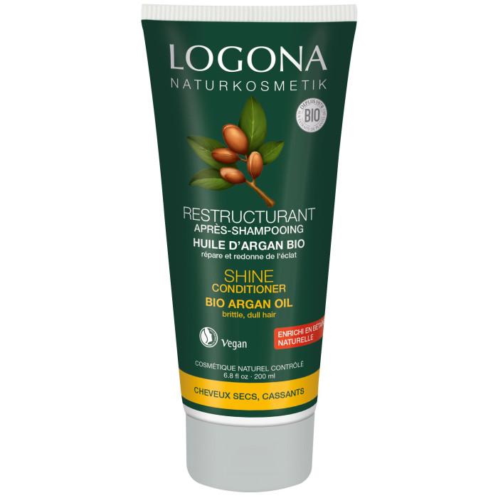 Logona Кондиционер для Блеска волос с Био-Аргановым маслом 200 мл