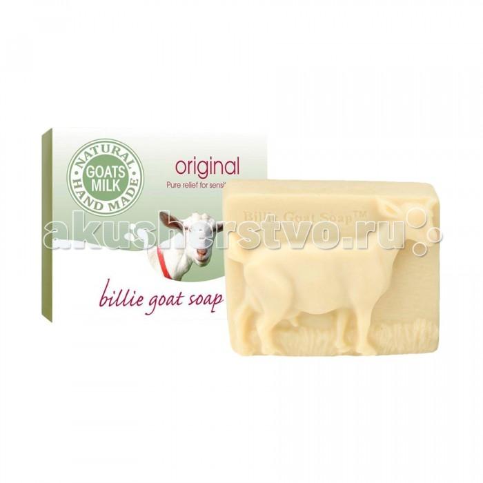 Billie goat soap Мыло для мытья рук и тела на основе козьего молока неароматизированное 100 г