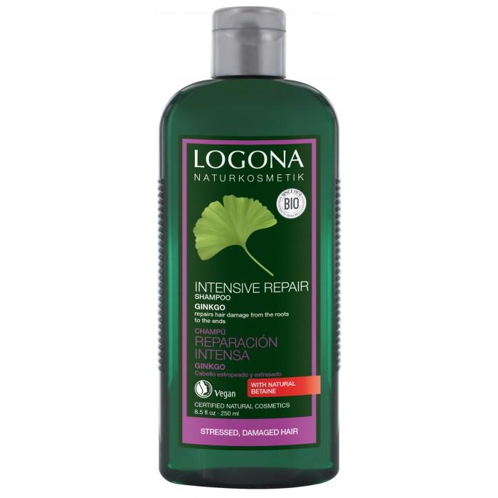 Logona Восстанавливающий шампунь с Экстрактом Гинкго 250 млВосстанавливающий шампунь с Экстрактом Гинкго 250 млLogona Восстанавливающий шампунь с Экстрактом Гинкго 250 мл.  Восстанавливает сухие и поврежденные волосы.  Восстанавливающий шампунь с гинкго возвращает волосам здоровую структуру и природный блеск. Мягкие моющие вещества в составе шампуня очищают бережно, но тщательно, полностью вымывая остатки укладочных средств.   Фитокосметический  комплекс на основе экстракта гинкго, био-календулы, гидролизованного шелка и зародышей пшеницы глубоко восстанавливает и питает поврежденные волосы.  При регулярном применении шампуня волосы становятся более послушными, эластичными и блестящими.  Способ применения Нанесите шампунь на влажные волосы. Несколько минут массируйте кожу головы, после чего тщательно промойте волосы большим объемом теплой воды.  Состав вода, спирт денат.*, кокоглюкозид, глицерин, двунатриевый кокоилглутамат, натрия кокоилглутамат, натрия пирролидонкарбонат, бетаин, глицерилолеат, экстракт гинкго билоба, экстракт календулы*, гидролизованный шелк, этилкокоиларгинат пирролидонкарбоновой кислоты, экстракт зародышей пшеницы, ксантановая смола, натрия стеароиллактилат, лимонная кислота, фитиновая кислота, эфирные масла**, лимонен** *контролируемое биологическое выращивание **натуральные эфирные масла.<br>