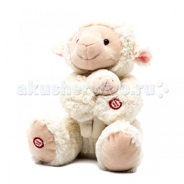 Интерактивная игрушка Fluffy Family Мама и малыш Овечка 26 см