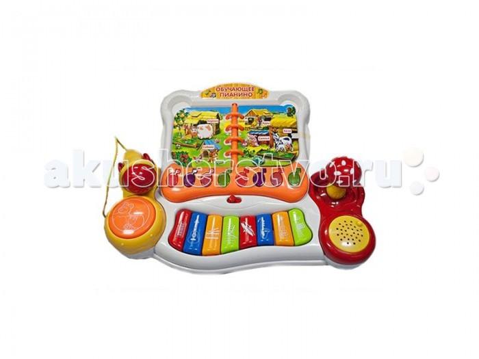 Музыкальная игрушка Умка Пианино Маша и Медведь