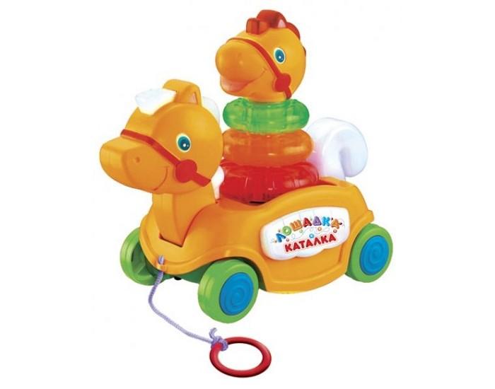 Каталка-игрушка Умка Лошадка B876678-R