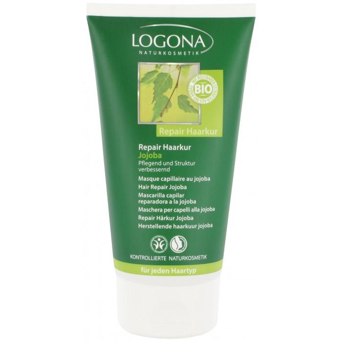 Logona Восстанавливающий крем для волос с маслом Жожоба 150 мл