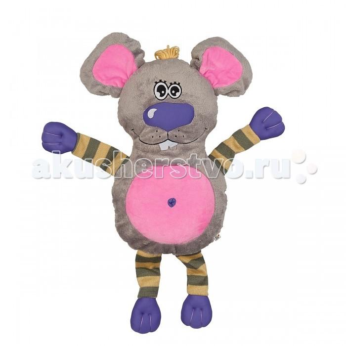 Мягкая игрушка Fluffy Family Подушка-обнимашка Мышь 60 смПодушка-обнимашка Мышь 60 смМягкая игрушка Fluffy Family Подушка-обнимашка Мышь 60 см забавная игрушка, обязательно понравится малышу.   Психологи советуют - если ребенок отправляется впервые в детский сад, пусть возьмет с собой игрушку, которая будет напоминать ему о доме. С таким другом легче успокоиться и адаптироваться к незнакомой обстановке.  Все материалы, использованные при создании игрушки, обладают гипоаллергенными свойствами, поэтому она прекрасно подойдет для вашего малыша.<br>