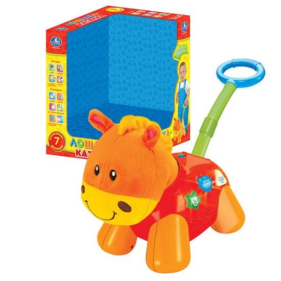 Каталка-игрушка Умка Лошадка 0654-07