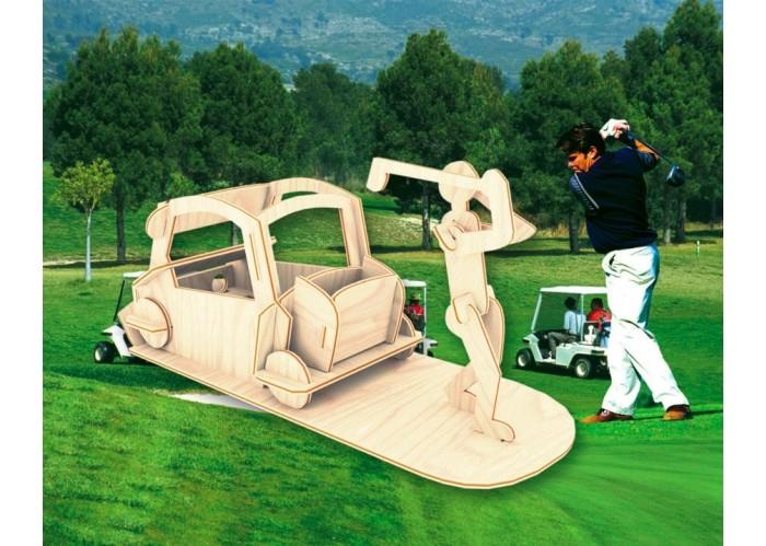 Конструктор МДИ Игрок в гольфИгрок в гольфМДИ Игрок в гольф С008                       Данная сборная модель представляет собой скорее коллекционный, нежели игровой вариант. Собирается легко и просто, дополнительных средств не требует, является неплохим средством проведения досуга. Отлично развивает у детей конструктивное мышление, внимательность и усидчивость. После сборки может послужить милым украшением комнаты.<br>