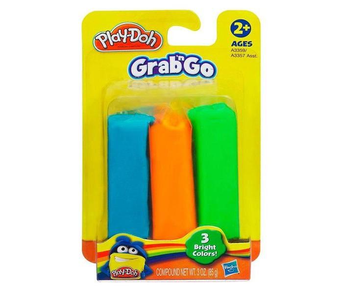 Hasbro Набор пластилина Play-Doh 3 цветаНабор пластилина Play-Doh 3 цветаHasbro Набор пластилина Play-Doh 3 цвета - это материал для детского творчества. В наборе имеется 3 куска пластилина разного цвета, изготовленные из парафина и масел Цвета пластилина яркие и насыщенные Ваять из них что-либо будет приятно С этим набором ребенок может слепить множество фигурок различных форм. Набор рассчитан для детей в возрасте от 2 лет и помогает развивать у них мелкую моторику рук и мышление.  Возраст: от 2 лет<br>