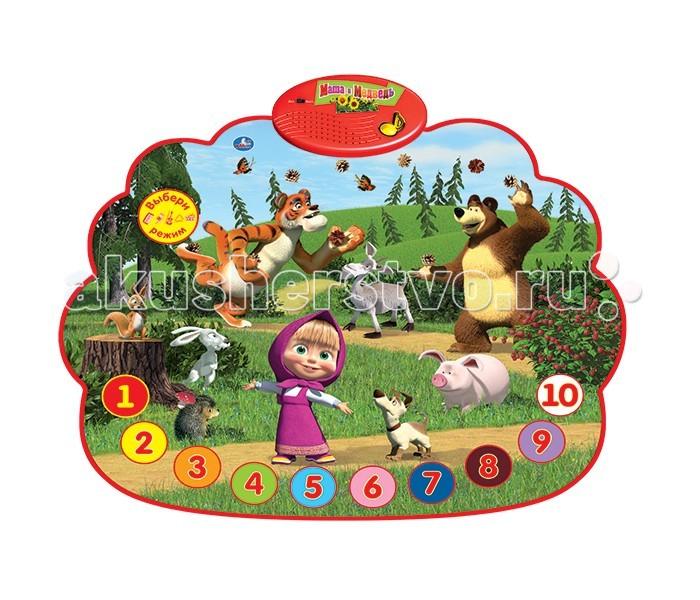 Обучающие плакаты Умка Развивающий коврик Маша и медведь