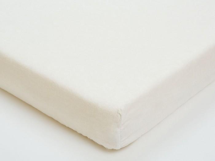 Giovanni Простыня на резинке фланель 120х60 Белая
