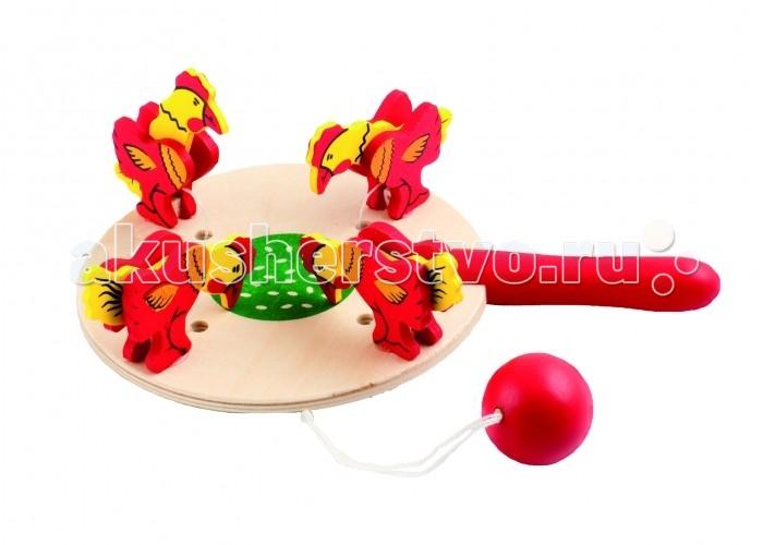 Деревянная игрушка МДИ Курочки и зернышки