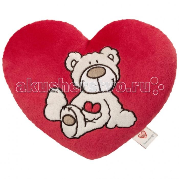 Nici Подушка-сердце Медвежонок 25 см