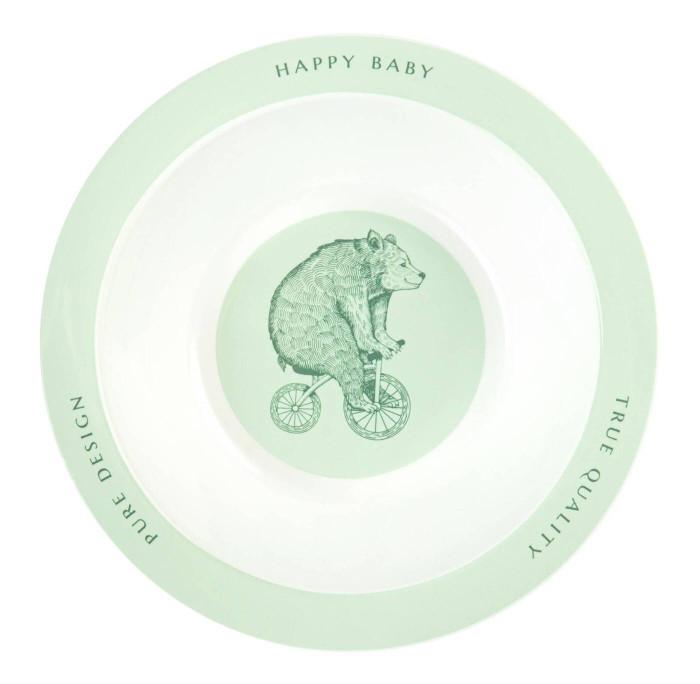 Happy Baby Глубокая тарелка для кормления Rusty-Champion