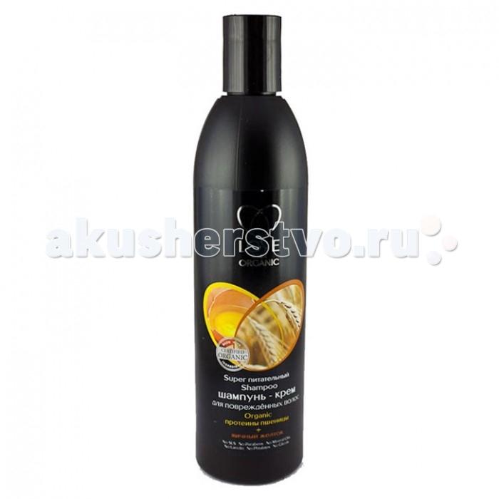 Natura Siberica Шампунь-крем для поврежденных волос Пшеница+желток Love 2 mix organic 360 мл