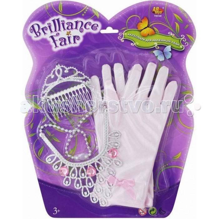 Brilliance Fair Набор перчатки, колье, диадема, заколка
