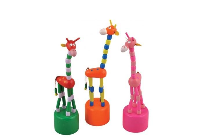 Деревянная игрушка МДИ Дергунчик Жираф