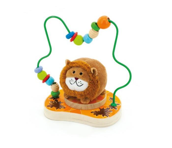 Деревянная игрушка МДИ Лабиринт ЛеваЛабиринт ЛеваМДИ Лабиринт Лева Д386  Этот очаровательный Лева очень хочет найти друга! Он теплый, пушистый, приятный на ощупь и совсем не страшный. А живет он на маленькой симпатичной лужайке-подставке с интересной конструкцией. Она похожа на арку, украшенную подвижными разноцветными элементами, которые можно перемещать, как заблагорассудится.<br>