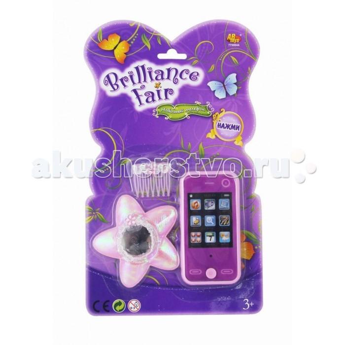 Brilliance Fair Телефон в наборе с аксессуарами (зеркало, заколка) со звуковыми эффектами