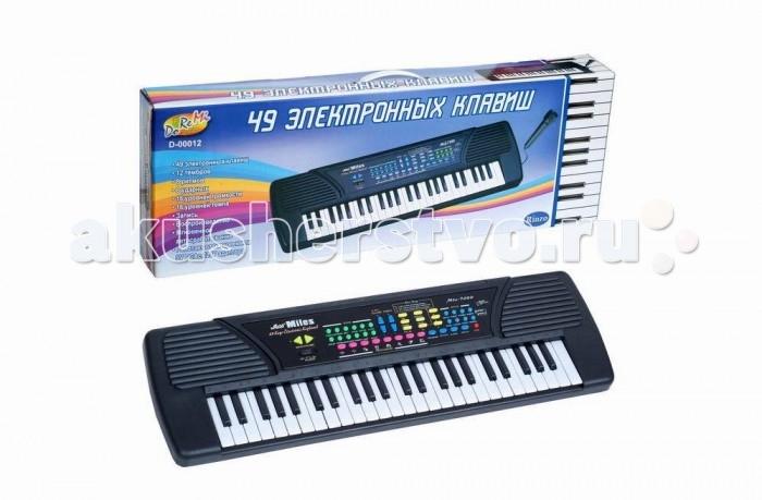 Музыкальная игрушка DoReMi Синтезатор 37 клавиш 78 смСинтезатор 37 клавиш 78 смDoReMi Синтезатор 37 клавиш 78 см привлечет внимание вашего ребенка и доставит ему много удовольствия от часов, посвященных игре с ним.  Особенности: Синтезатор оснащен регулятором громкости, благодаря которым вы не потревожите и домочадцев даже самых привередливых соседей, громкими звуками. Игра на музыкальных инструментах способствует развитию слуха и чувства ритма. Муз.инструмент 49 клавиш с микрофоном, длина 78 см, работает от батареек или встроенного адаптера (220V)  12 тембров/8 ритмов  Запись/воспроизведение  Программирование ритма  Вибрация звука/Сустейн  8 демо мелодии  16 уровней громкости 16 уровней контроля темпа функция обучения<br>