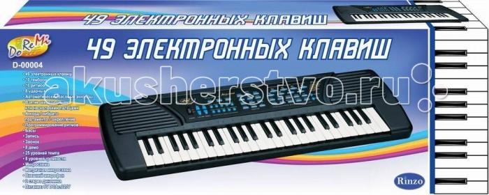 Музыкальная игрушка DoReMi Синтезатор 49 клавиш 80 см
