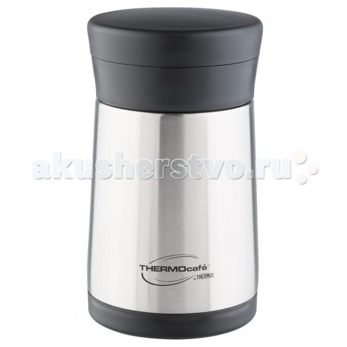 Термос Thermos ThermoCafe XC05-BK SBK для еды с пластиковой ложкой 500 мл от Акушерство