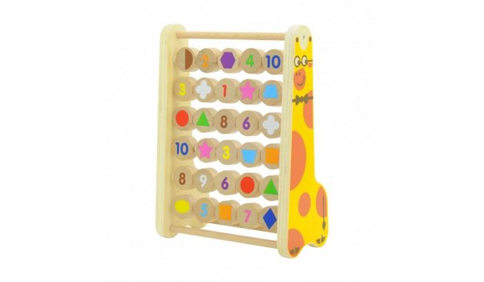 Деревянная игрушка МДИ СчетыСчетыМДИ Счеты Д171  Счеты - самый простой способ научить ребенка элементарным азам арифметики. Вначале, передвигая разноцветные деревянные шарики по оси в горизонтальном направлении, малыш узнает новые слова: много и мало. Со временем он научится прибавлять и отнимать, пересчитывая элементы в правой и левой частях счетов.  Размер игрушки: 23.7 х 29.6 х 12.7 см.<br>