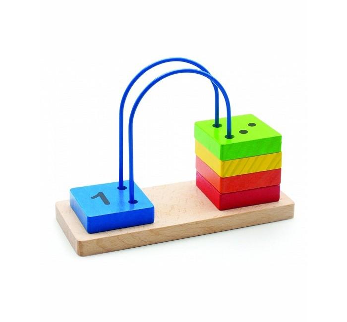 Деревянная игрушка МДИ Счеты перекидные малыеСчеты перекидные малыеМДИ Счеты перекидные малые Д372  Развивающая игрушка Счеты от бренда Мир деревянных игрушек. Игрушка являет собой основание, изогнутый путь из проволоки и 5 плашек, которые можно передвигать. Разноцветные деревянные плашки с цифрами дадут ребенку понятие о форме, цвете и счете до 5. Игра с такими счетами обязательно понравится малышу и научит его новому.  Игра со счетами развивает: - математические способности - мышление и память - мелкую моторику рук - концентрацию внимания и усидчивость - понятие основных цветов<br>