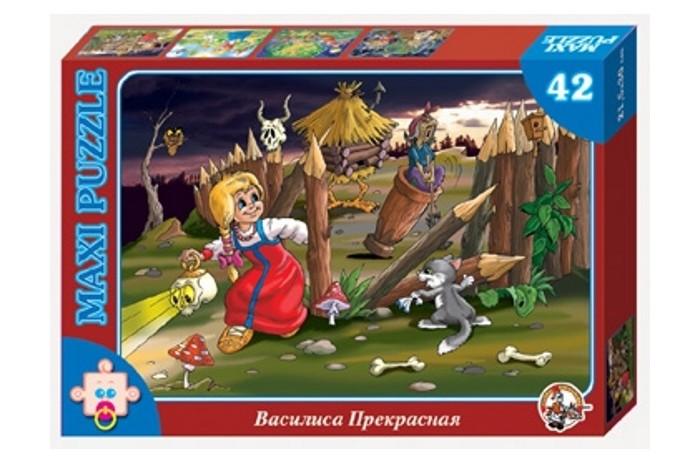 Десятое королевство Пазл Василиса Прекрасная (42 элемента)