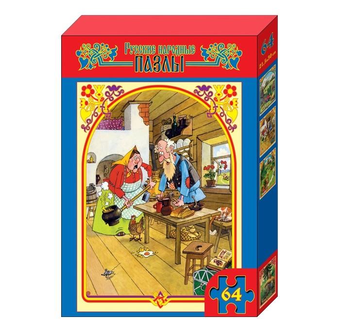 Десятое королевство Пазл Курочка Ряба (64 элемента)Пазл Курочка Ряба (64 элемента)Десятое королевство Пазл Курочка Ряба (64 элемента)   Популярная занимательная игра, которая развивает мелкую моторику рук, память, внимание посредством собирания яркой и красочной картинки, состоящей из мелких деталей. Огромное разнообразие изображений никого не оставит равнодушным!  Особенности: Размер картинки - 21.5х30 см Количество элементов - 64 шт. Толщина картона - 1.25 мм<br>
