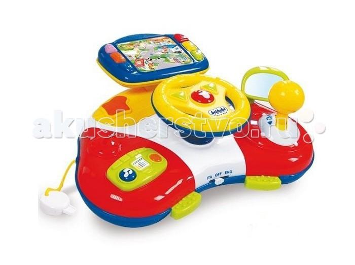 Clementoni Baby Музыкальный навигатор ТоммиBaby Музыкальный навигатор ТоммиМузыкальный навигатор Baby Clementoni Томми - новый друг Вашего ребенка, который познакомит его с буквами, цифрами и новыми словами.    Особенности:   Играя с Томми и следуя его подсказкам, Ваш ребенок сможет развить мануальные навыки и изучить причинно-следственные связи, развить осязательные связи и координацию.   Переключая скорости и путешествуя по различным местам с Томми, ребенок познакомится с обычными, повседневными делами, изучит цифры, слушая приятную музыку и веселые звуки.   Переключаемый выбор: русский или английский язык.   Питание от трех батареек ААА (в комплекте).<br>