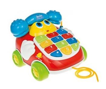 Каталка-игрушка Clementoni Baby Чудесный телефон