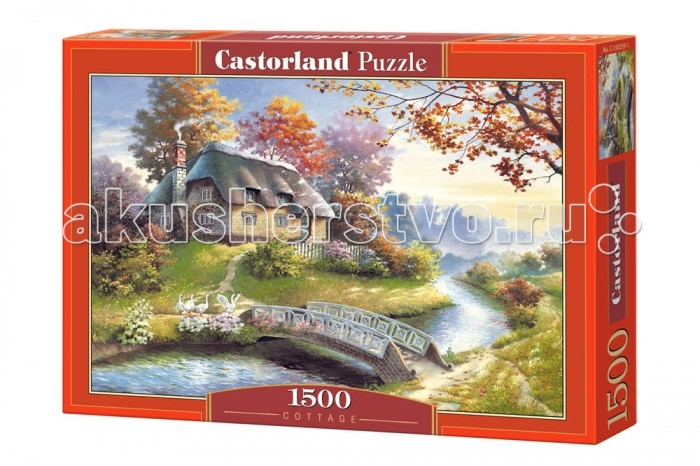 Castorland Пазл Домик в горах 1500 элементов