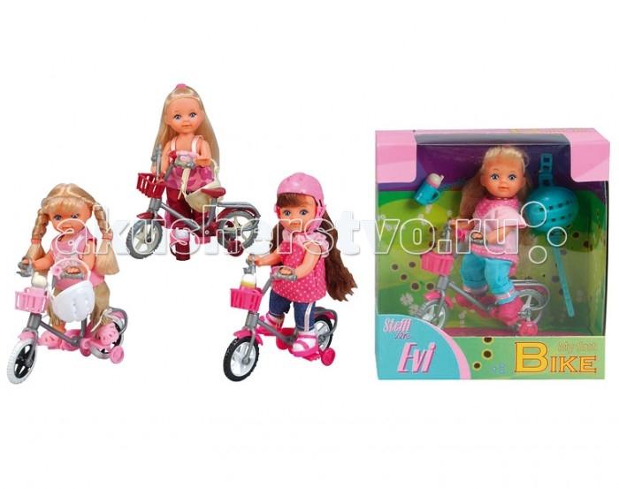 Simba Кукла Еви на горном велосипеде