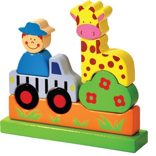 Конструкторы Toys Lab Магнитный Зоопарк