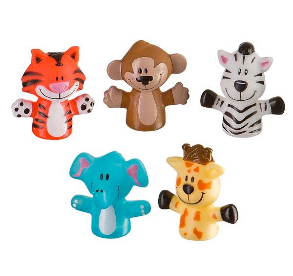 Happy Baby Набор игрушек Fun AmigosНабор игрушек Fun AmigosHappy Baby Набор ПВХ-игрушек Fun Amigos развивает: мелкую моторику; творческое мышление; познавательный интерес; речь; навыки общения.  Особенности: пять веселых друзей в виде ПВХ-игрушек надеваются на пальчики приятный материал<br>