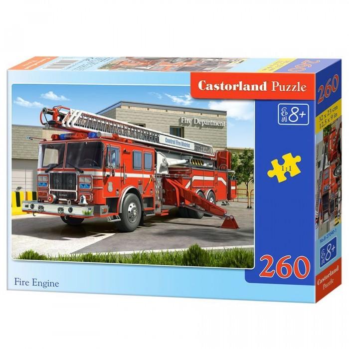 Castorland Пазл Пожарная машина 260 элементов