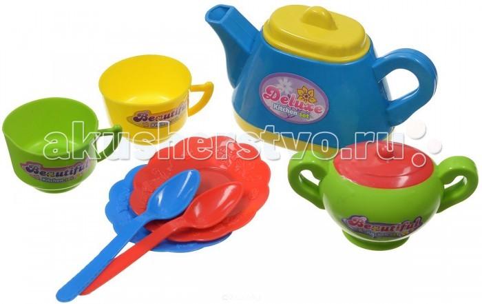 ABtoys Помогаю Маме Кухонный набор 7 предметов на блистере
