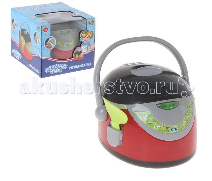 ABtoys Помогаю маме Мультиварка в наборе с ложкой световые и звуковые эффекты