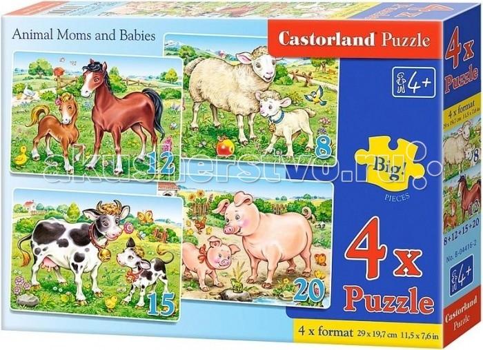 Castorland ���� 4 � 1 �������� �������� 55 ���������