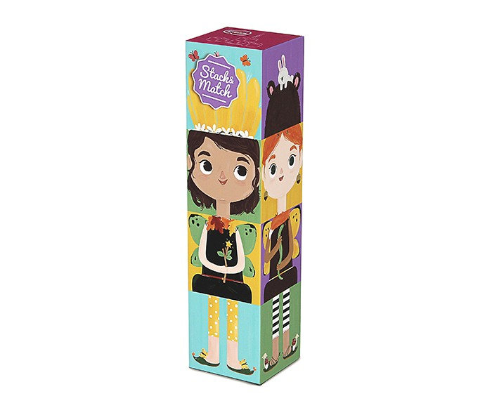 Развивающая игрушка Krooom из картона Stack&amp;Match кубики Лесные феииз картона Stack&amp;Match кубики Лесные феиKrooom Игрушки из картона от 3 лет: Stack&Match кубики Лесные феи.  Соберите все кубики вместе и играйте с неограниченным количеством фигурок. Вы можете вращать кубики, каждый раз создавая новых персонажей!<br>