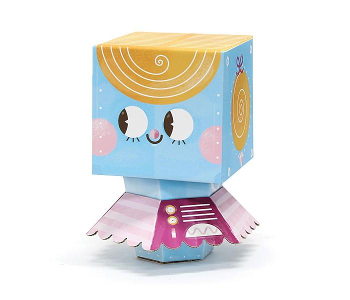 Конструктор Krooom Игрушки из картона модель Fold My… Робот балеринаИгрушки из картона модель Fold My… Робот балеринаKrooom Игрушки из картона от 3 лет: модель Fold My… Робот балерина.  Балерина – самая младшая в семье роботов. У нее есть секундомер, с помощью которого она засекает, сколько времени она может кружиться, не останавливаясь. А еще у нее есть особое устройство, позволяющее не падать во время пируэтов.<br>