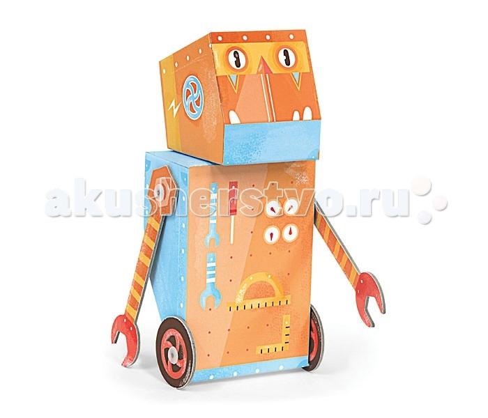 Конструктор Krooom Игрушки из картона модель Fold My… Робот строительИгрушки из картона модель Fold My… Робот строительKrooom Игрушки из картона от 3 лет: модель Fold My… Робот строитель.  Наш мастер на все руки может построить все, что угодно. У него есть куча инструментов, а еще ключ-рука, с помощью которой он собрал всех остальных друзей-роботов.<br>