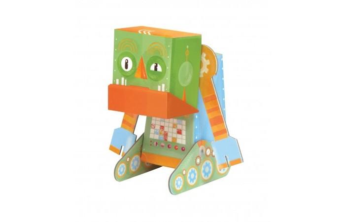 Конструктор Krooom Игрушки из картона модель Fold My… Сердитый роботИгрушки из картона модель Fold My… Сердитый роботKrooom Игрушки из картона от 3 лет: модель Fold My… Сердитый робот.  Грампи любит жаловаться и постоянно выходит из себя. Он немного ржавый, да еще и скрипит. Но остальные роботы все равно его любят.<br>
