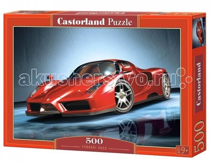 Castorland Пазл Феррари Enzo 500 элементовПазл Феррари Enzo 500 элементовПазл Феррари Enzo от польской компании Castorland приведет в восторг как юных любителей автомобилей, так и взрослых ценителей красивых машин. Двухместный суперкар, изображенный на картинке, поражает своей красотой, мощностью и яркостью. 500 качественно выполненных элементов складываются в яркое фото-изображение легендарного автомобиля. Материалы, из которых выполнен пазл, делают головоломку качественной и красивой, а четкое изображение впечатляет своим высоким качеством и яркими цветами.  Основные характеристики:   Размер упаковки: 35 х 25 х 4 см Размер собранной картины: 47 х 33 см Количество элементов: 500 шт.<br>