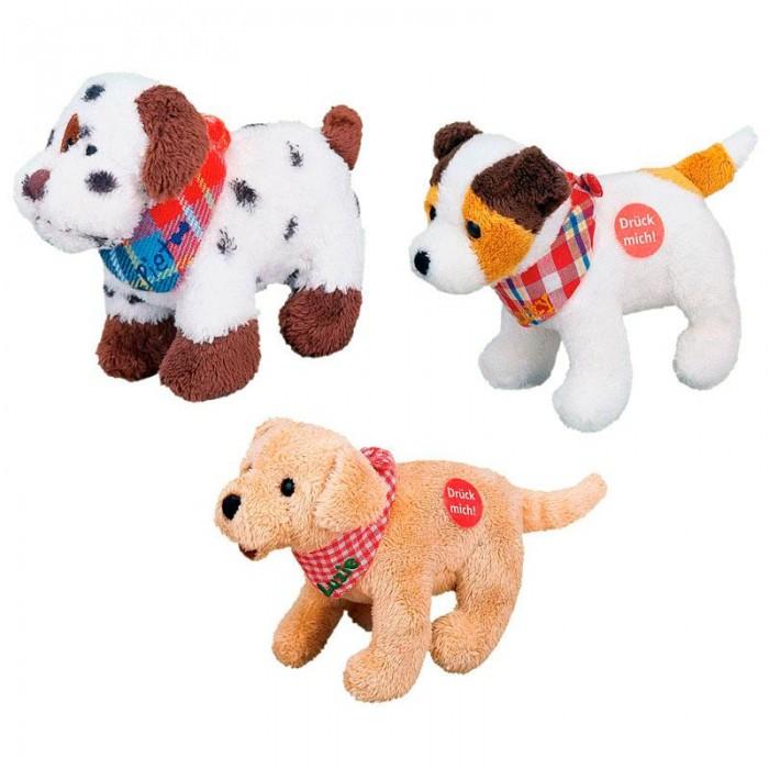 Музыкальная игрушка Spiegelburg Музыкальная собачка Piet, Luzie & Lucky 4472